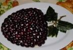 Салат «Тиффани» с виноградом: рецепты с фото