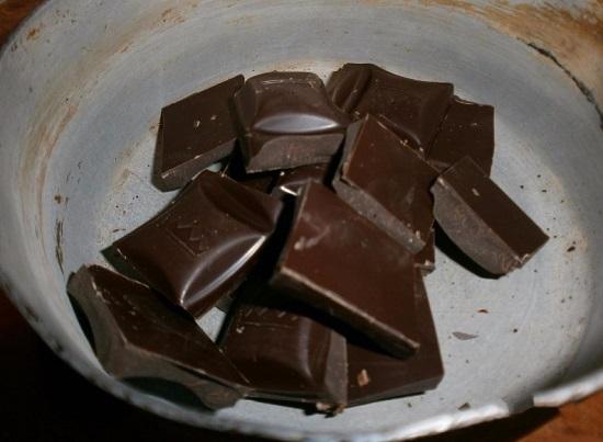 шоколад измельчим