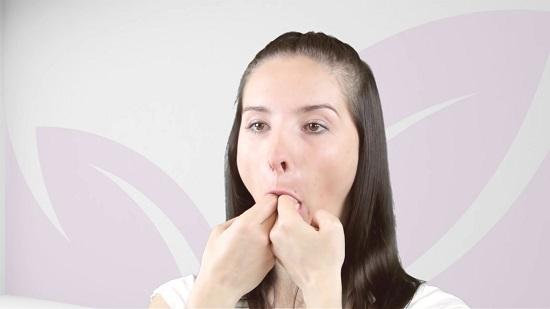 корректируется лицевой овал