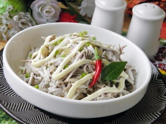 Салат «Ташкент»: рецепт с фото