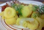 Клецки картофельные: рецепты