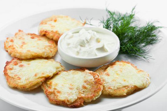 Драники картофельные с сыром в духовке