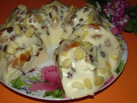 нежный творожный кекс без яиц