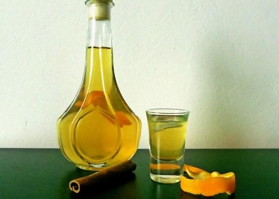 настойка на цитрусовых на водке