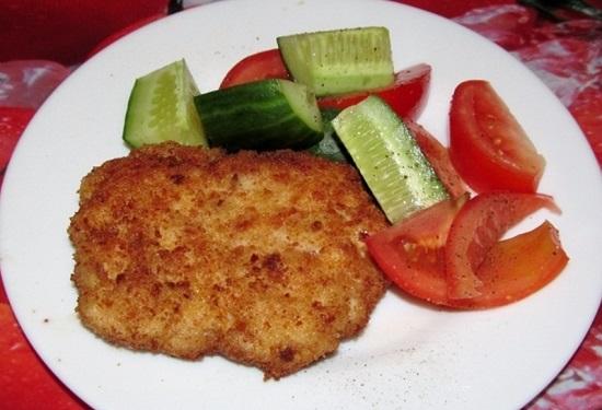 Наггетсы из рубленого мяса с сыром